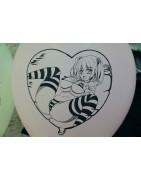 printed anime balloons
